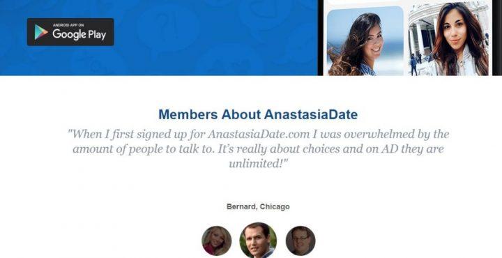 Anastasia Dating Online