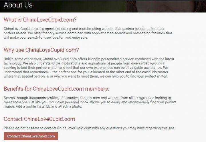 ChinaLoveCupid Dating