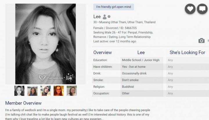 ThaiCupid Dating Site