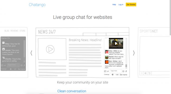 main page Chatango