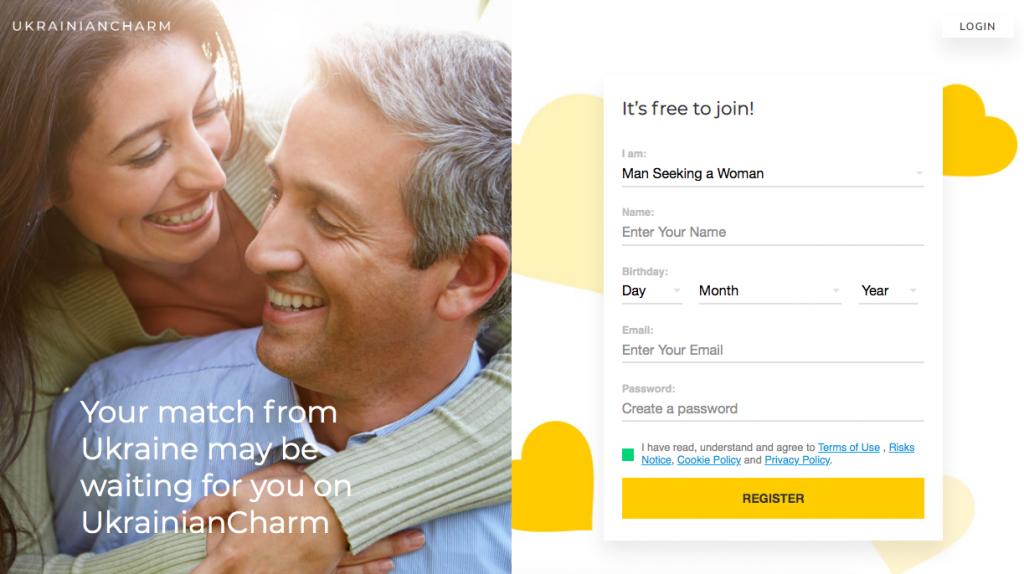 main page UkrainianCharm