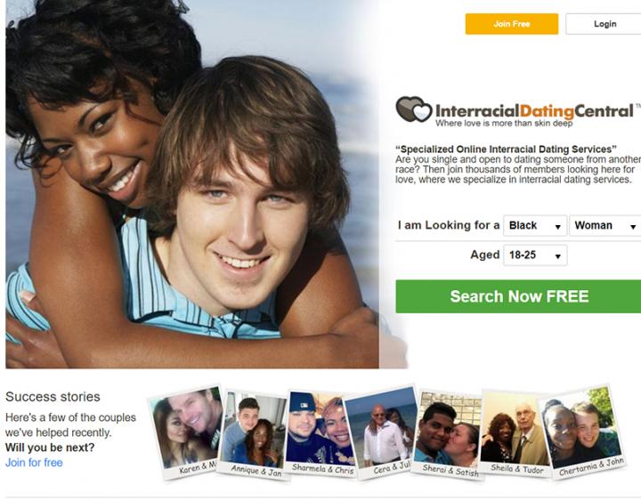 interreacial dating central